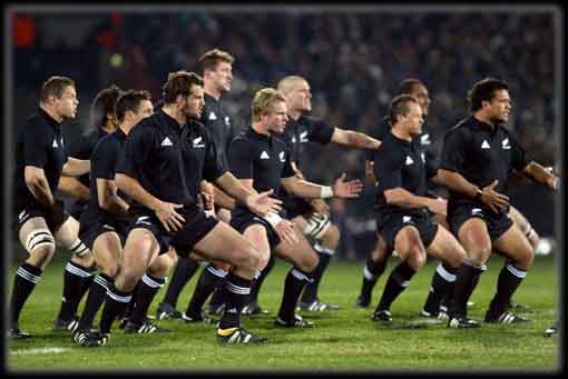 THE NEW ZEALAND ALL BLACKS RUGBY HAKA « TIGER TALES